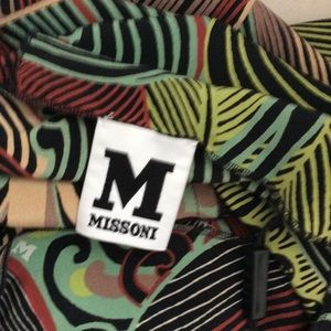 Missoni Tops - M Missoni Silk Ruffle Front Blouse Size 4